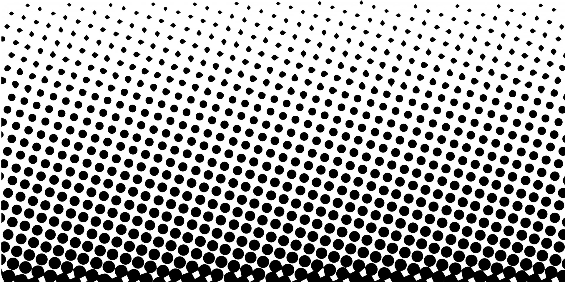 12 Free Vector Dot Patterns Images Free Vector Halftone