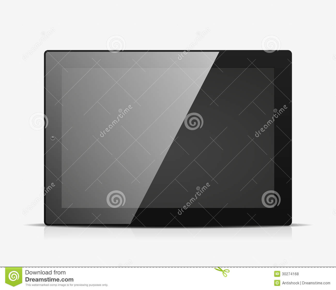 Free Vector Icon of Tablet