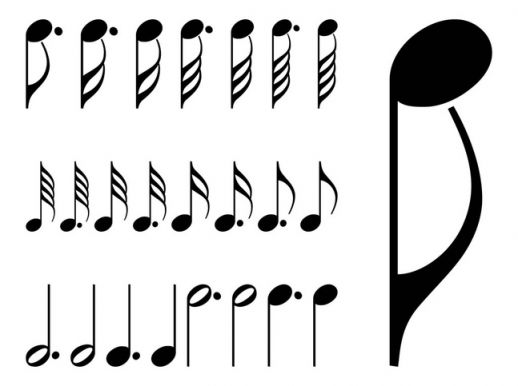 Free Vector Music Notes Symbols
