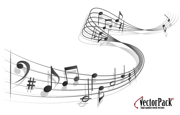 17 Music Note Vector Free Download Images