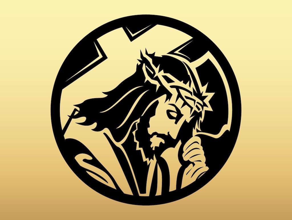 Free Vector Religious Cross Clip Art