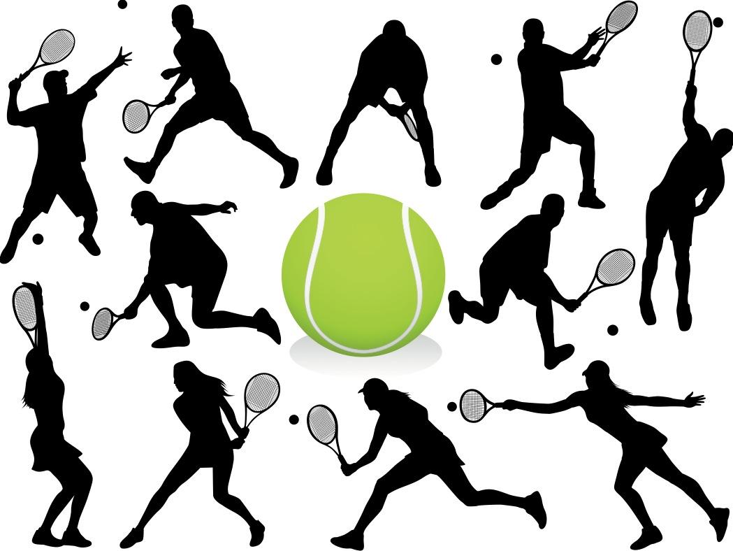Free Vector Tennis Logos