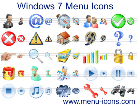 Free Windows 7 Icons