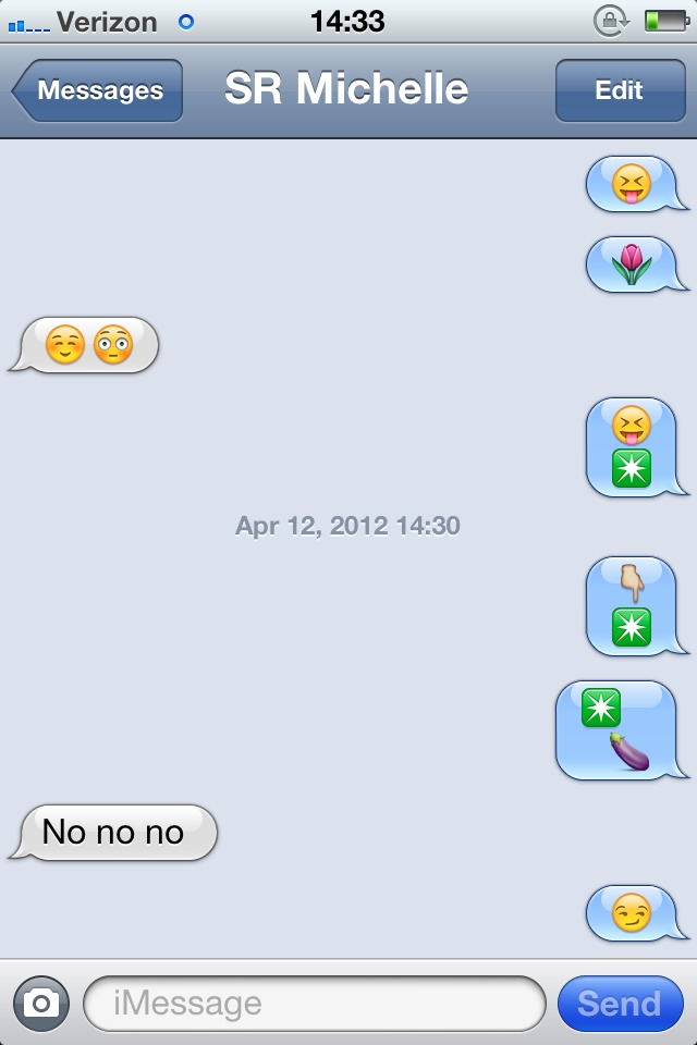 Emoji messages dirty text Naughty Text