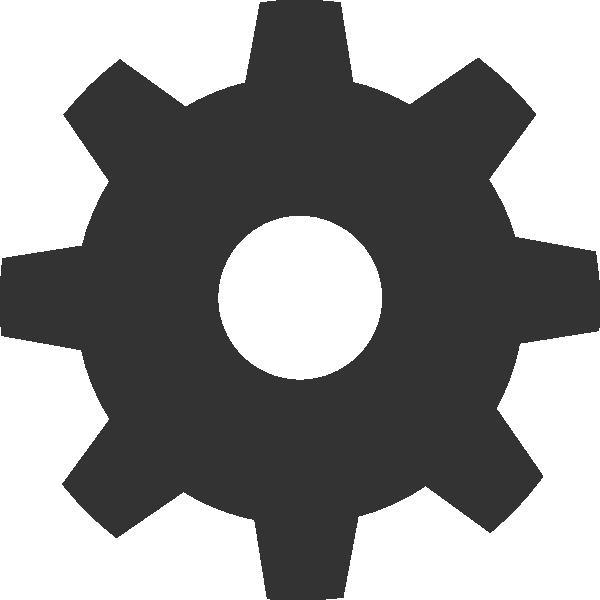 Gear Icon Clip Art