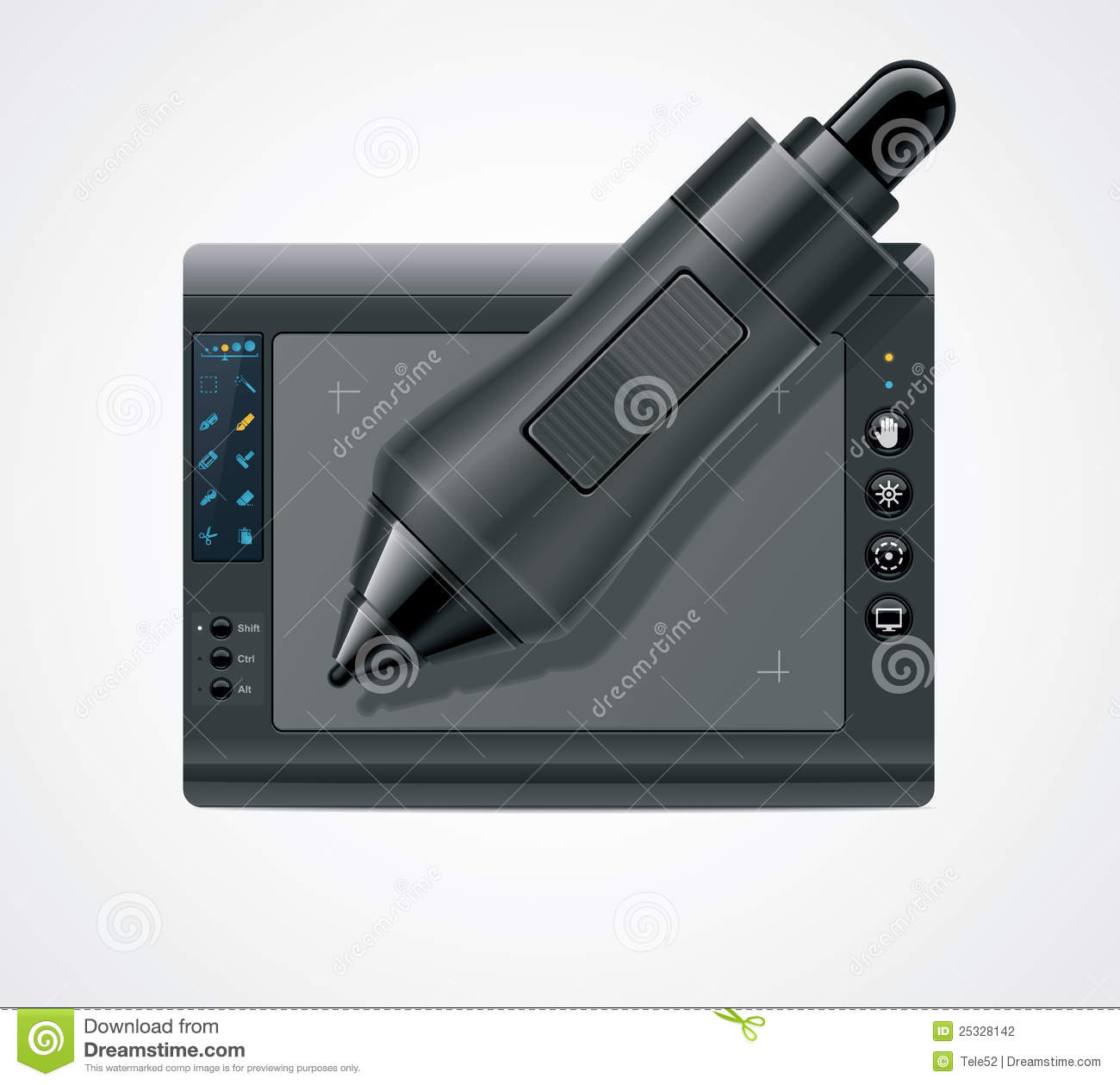 Graphic Icon Tablet