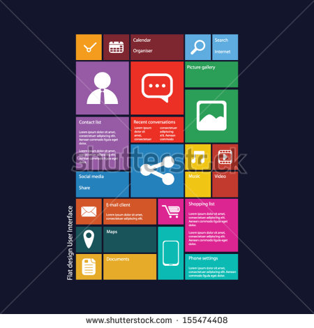 Graphic User Interface Design