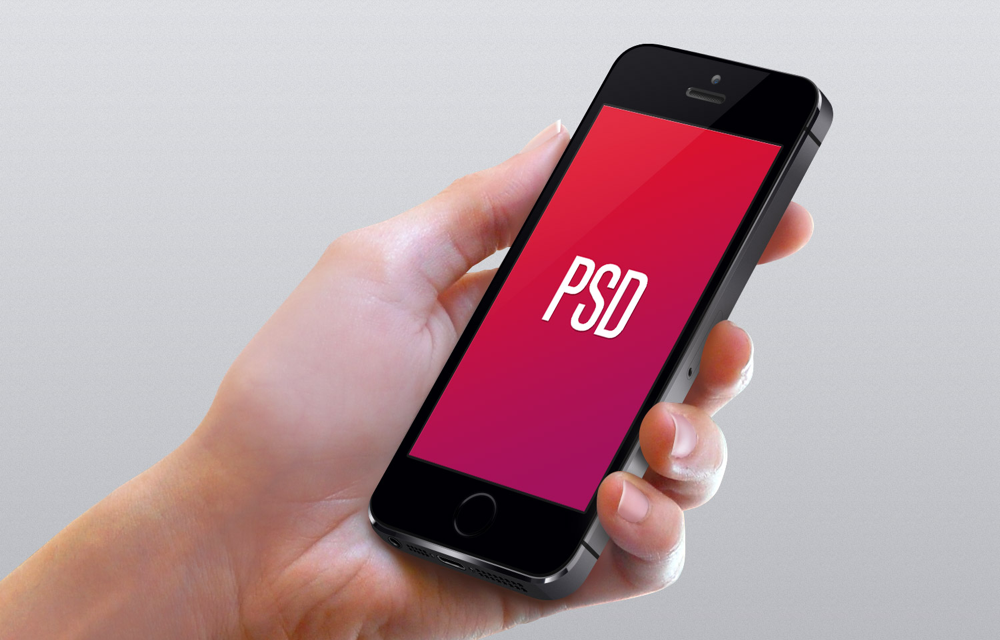 14 IPhone In Hand PSD Images - Hands Holding iPhone Psd ...