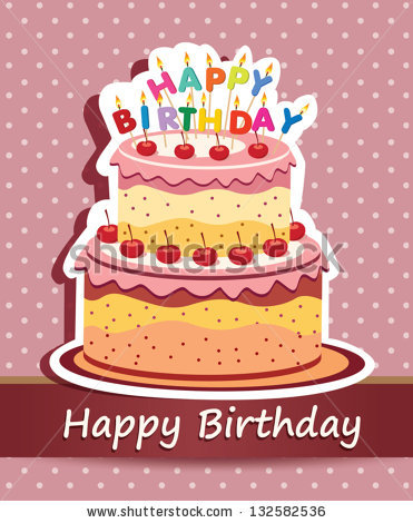 Birthday Cake Images Card : 12 Happy Birthday Cake Vector Images - Happy Birthday Cake ...