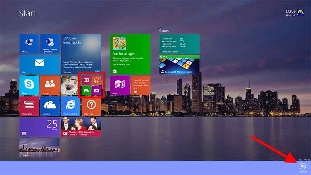 How to Customize Windows 8 Start Screen