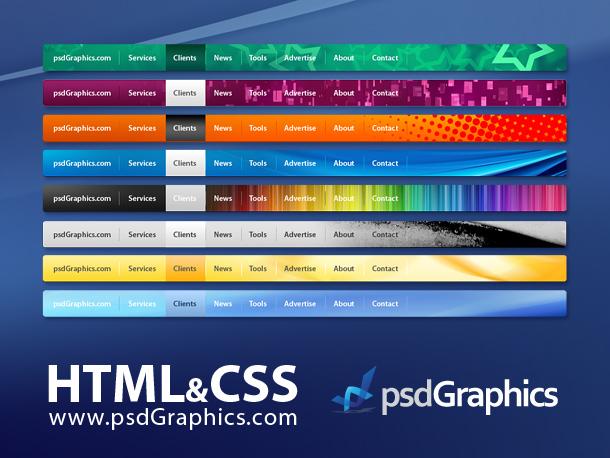 12 Horizontal Box PSD Template Images