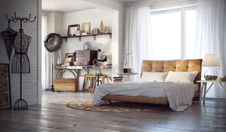 Industrial Interior Design Bedroom Ideas