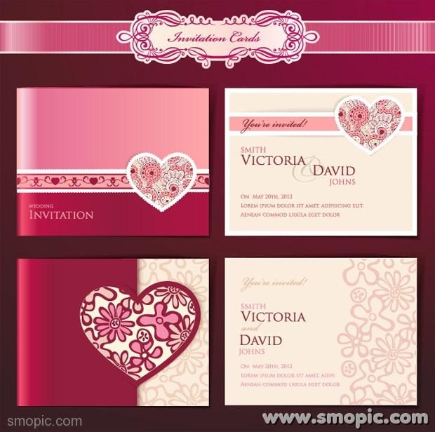 Wedding Invitation Design Templates: 8 Invitation Design Templates Images