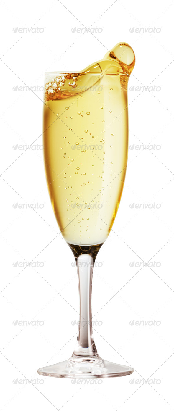11 Champagne Glass PSD Images