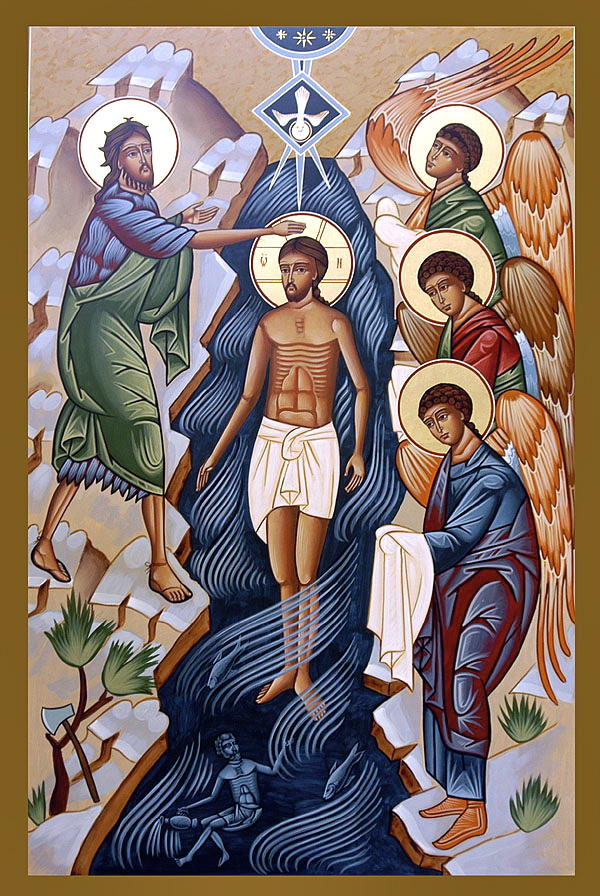 13 Baptism Of Jesus Icon Images
