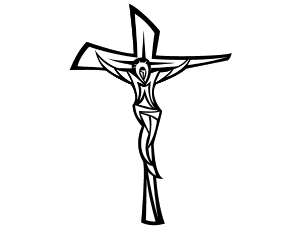 Jesus On Cross Clip Art Free