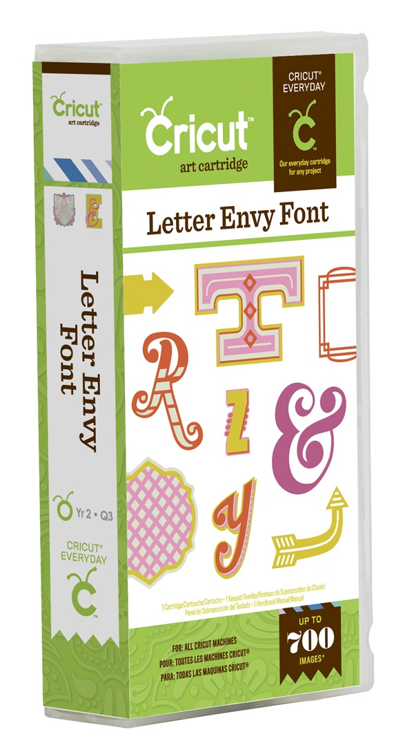 Letter Envy Font Cricut Cartridge