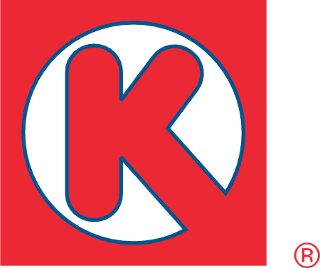 Logos with a Red K in a Circle