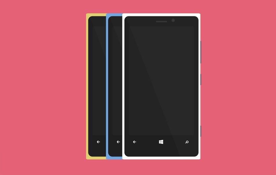 Lumia 950 Mockup PSD