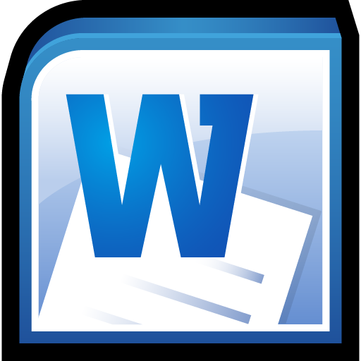 16 Microsoft Word 2010 Icon Images