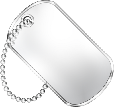 Military Dog Tag Template