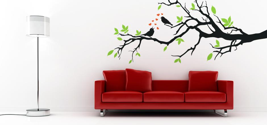 Modern Vinyl Wall Art Decals