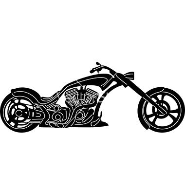 Motorcycle Vector Art