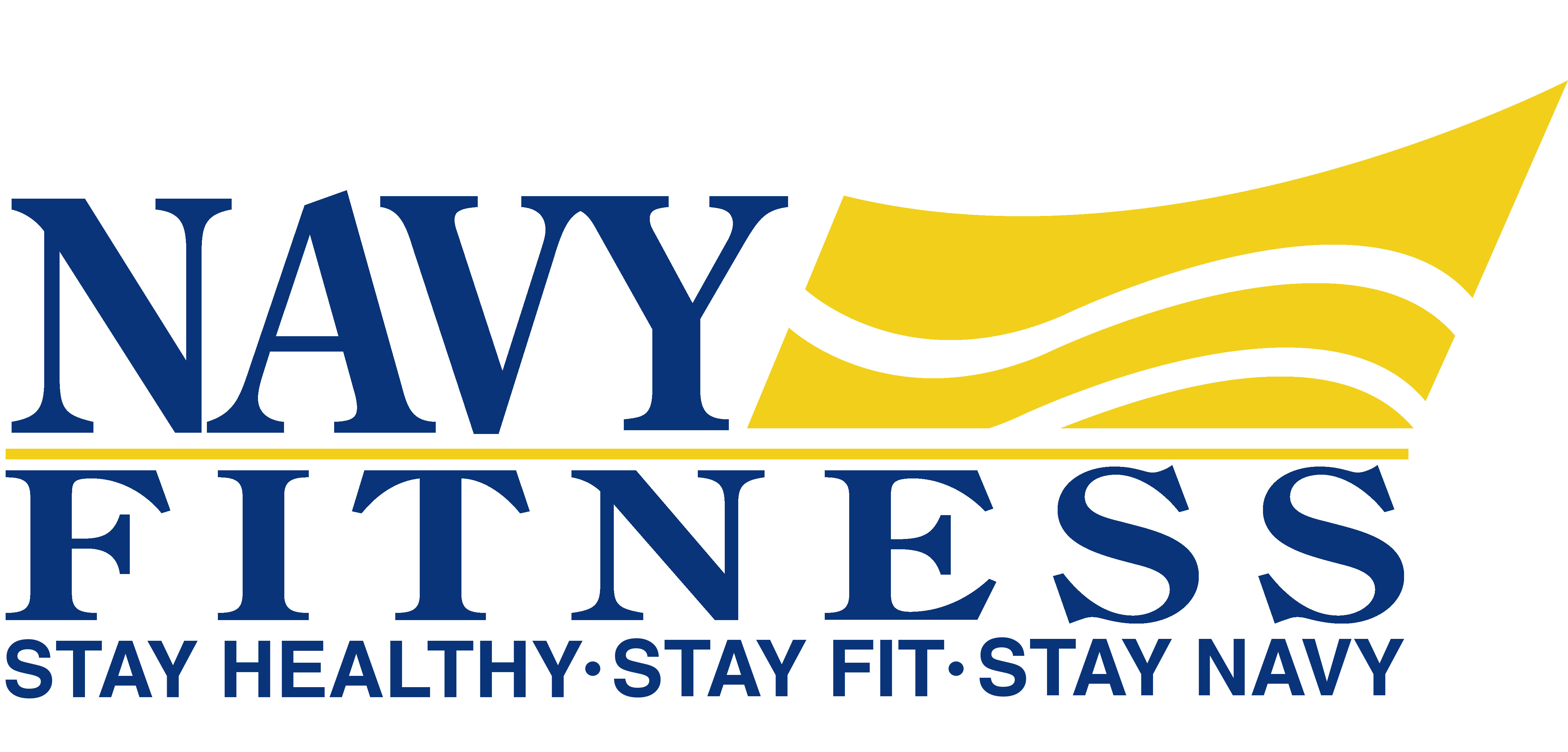 MWR Navy Fitness Logo