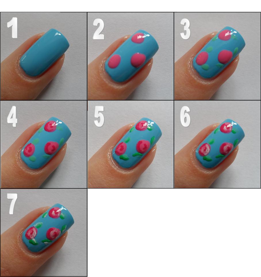 Nail Art Designs Step by Step Tutorial