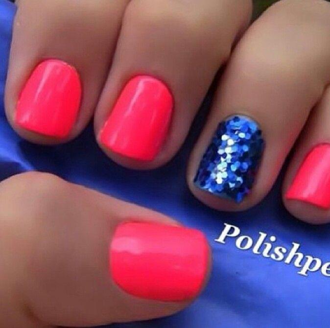 8 Pink Nail Designs Pinterest Images