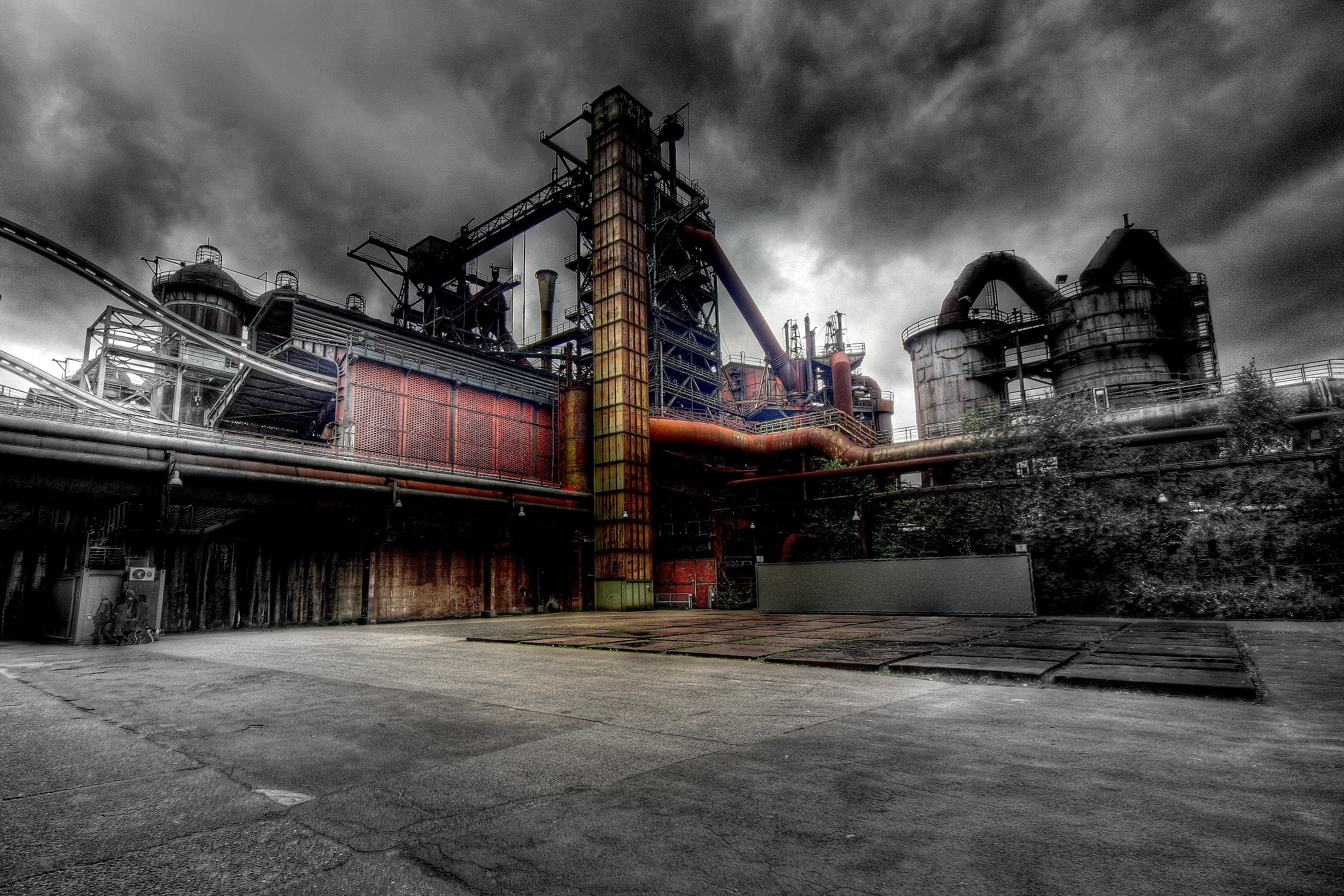 Old Industrial Factory