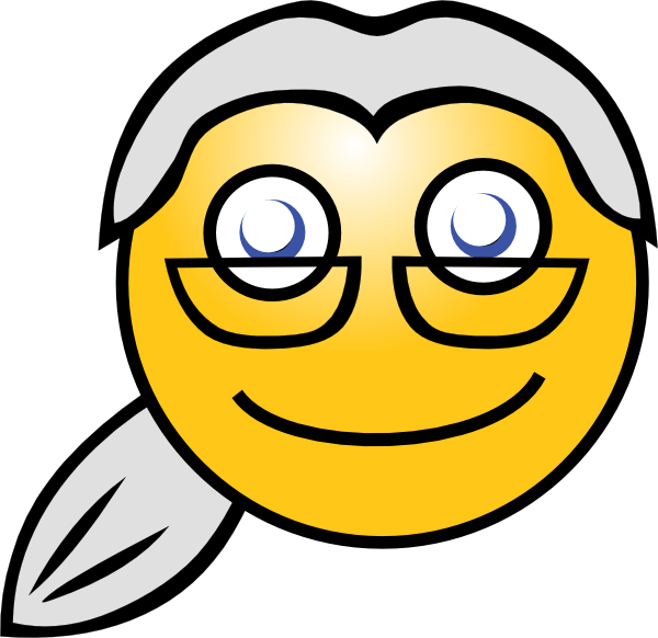 7 Old Man Smiley Emoticon Images