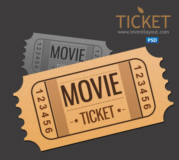 Old Movie Ticket Template