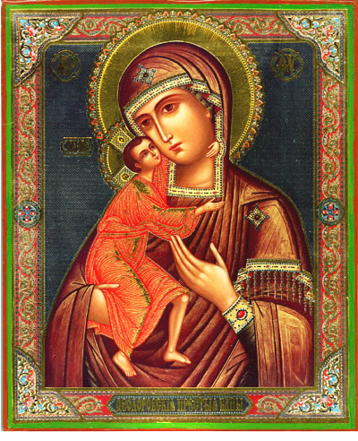 Orthodox Icons Virgin Mary