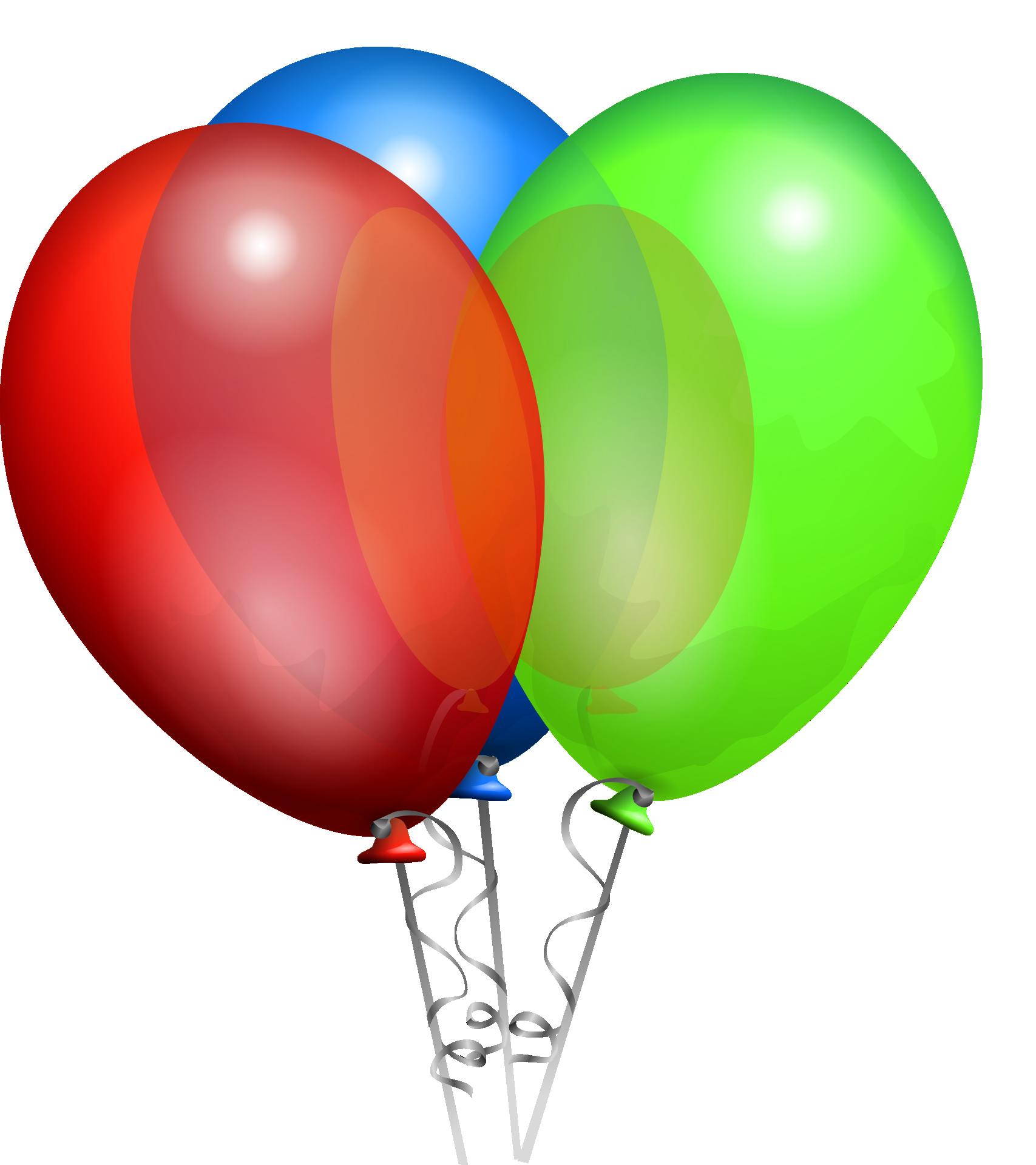 11 Blue Cartoon Balloon Vector Images