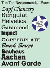 14 Patriotic Font Styles Images