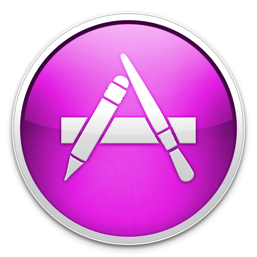 Pink Icon App Store