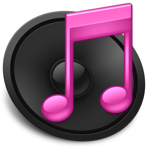 Pink iTunes Icon