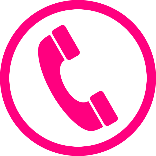 15 Pink Phone Icon Images