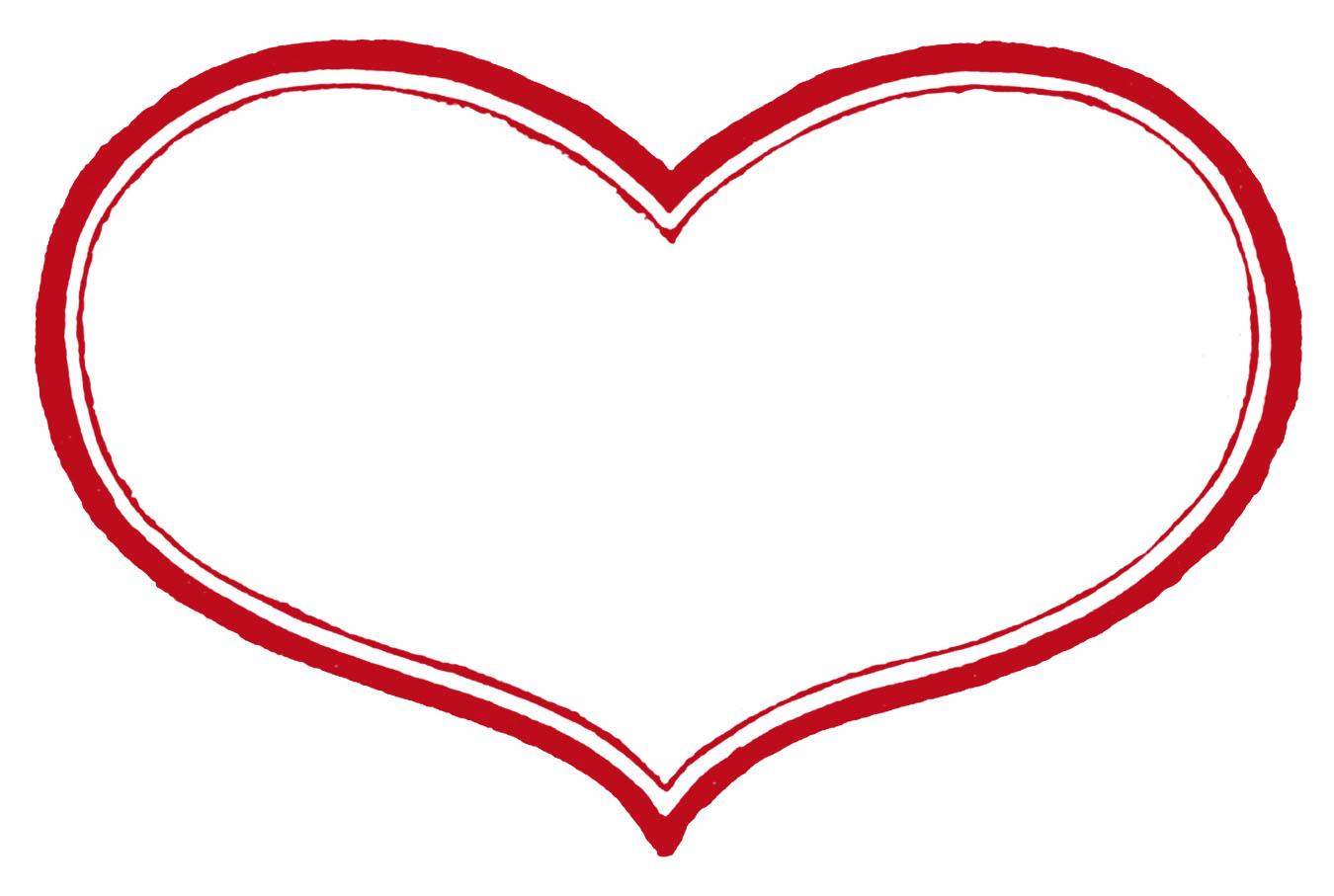 Printable Valentine Heart Shapes