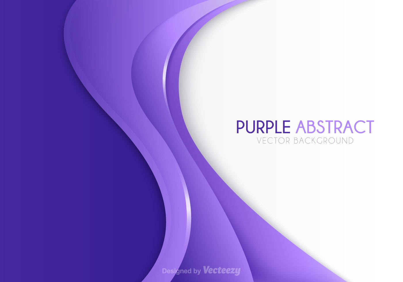 Purple Abstract Vector Free