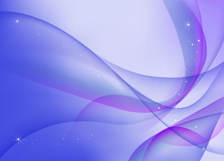 Purple and Blue Waves