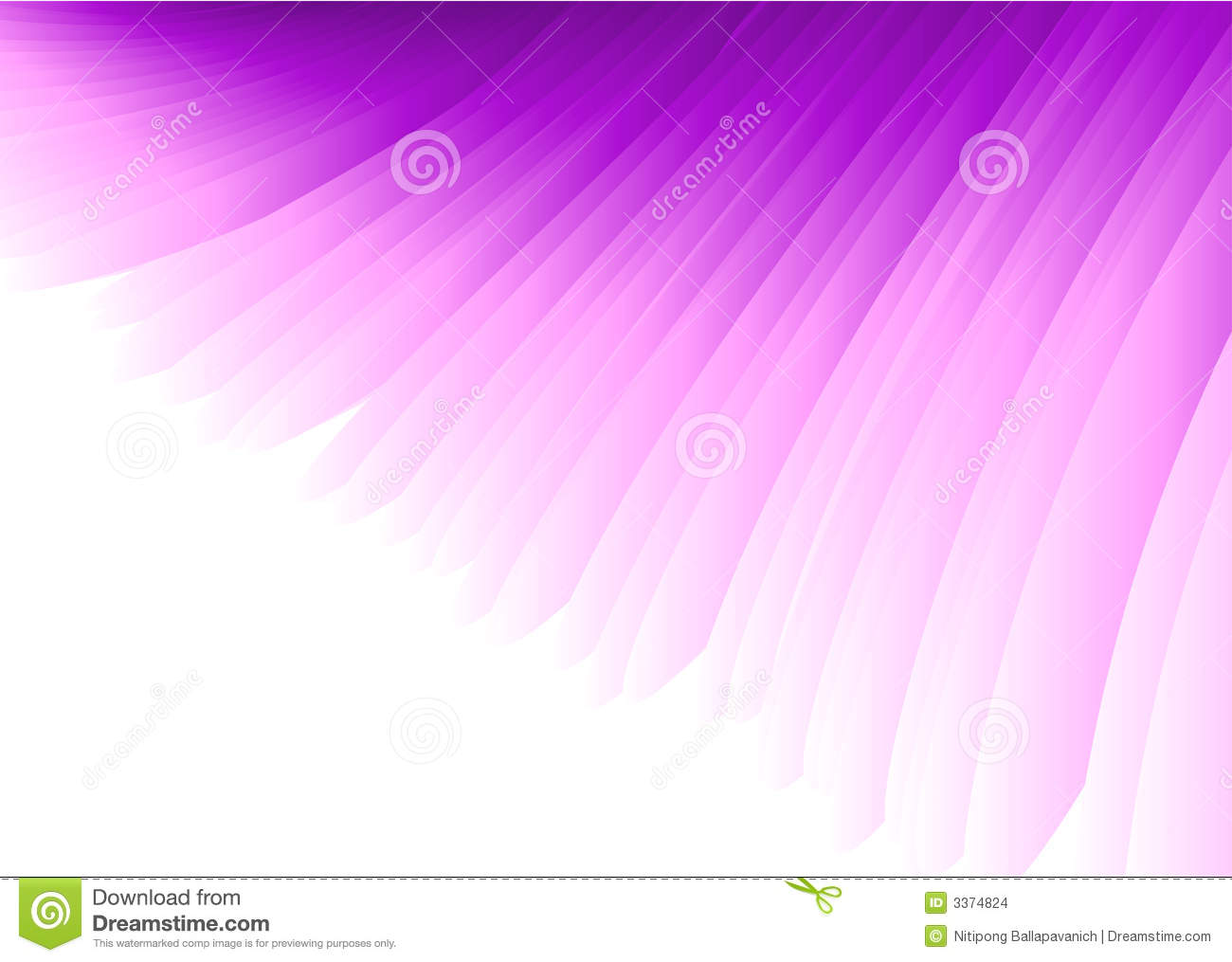 Purple Vector Wings