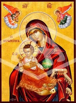 Religious Icons Virgin Mary