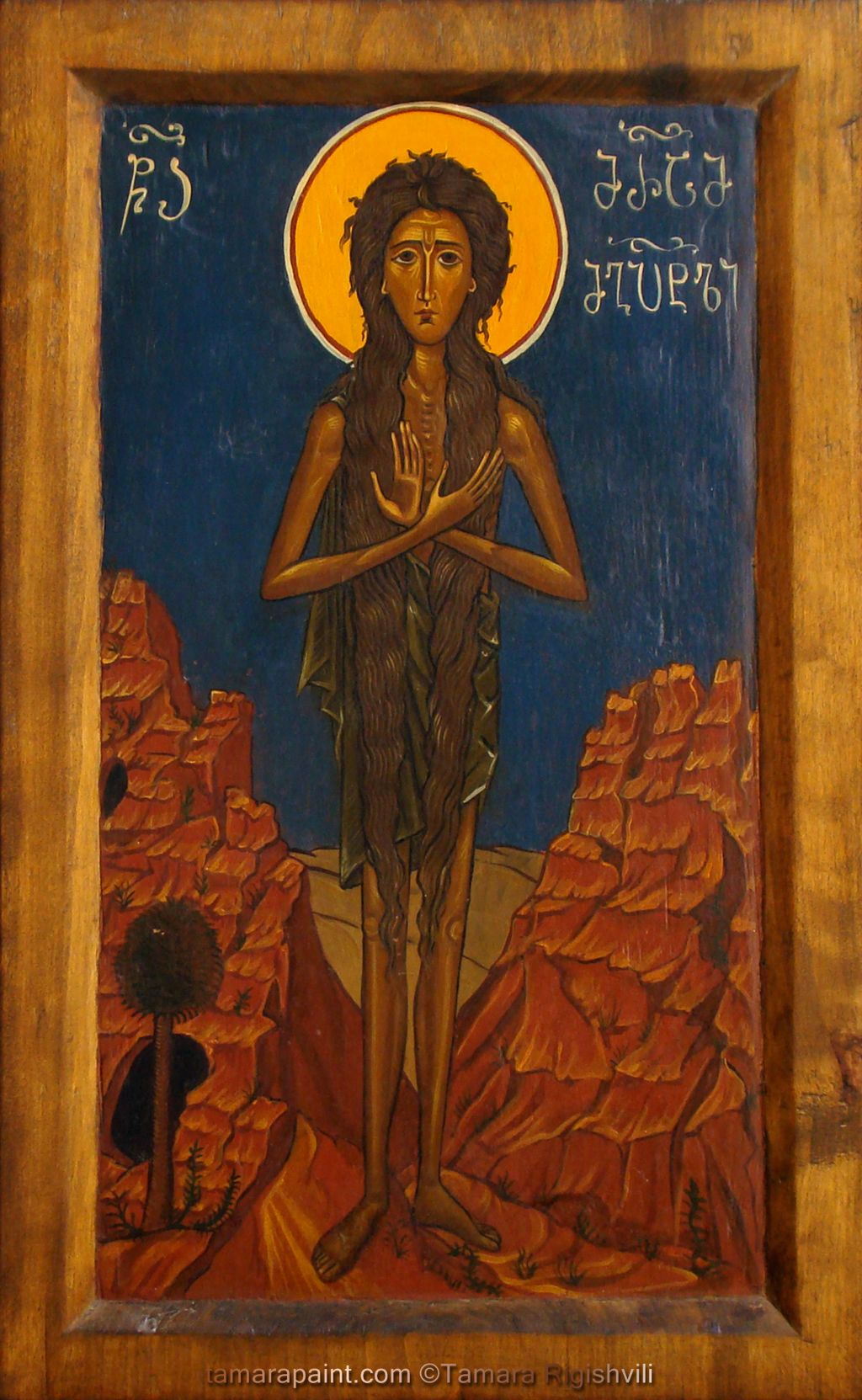 Saint Mary of Egypt Orthodox Icon