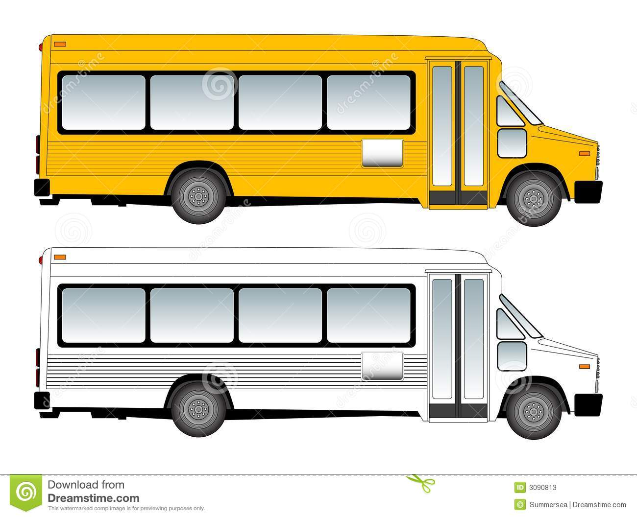7 School Bus Vector Images - Cartoon School Bus Vector ...