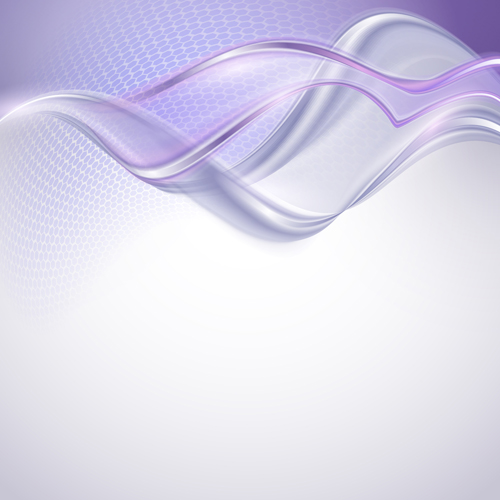 Shiny Purple Abstract Background