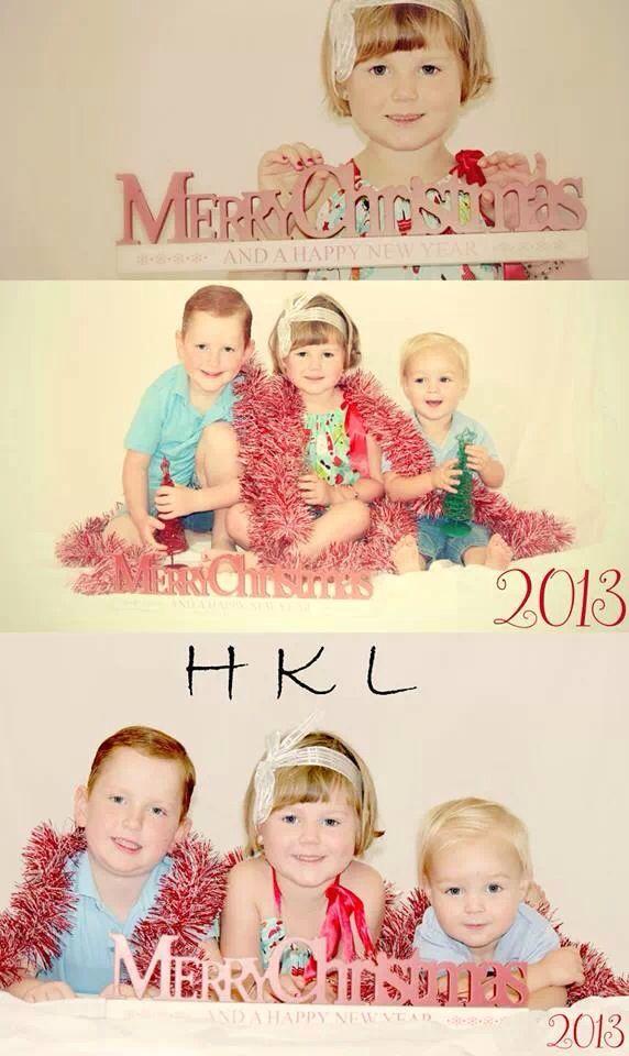 Sibling Christmas Photo Ideas