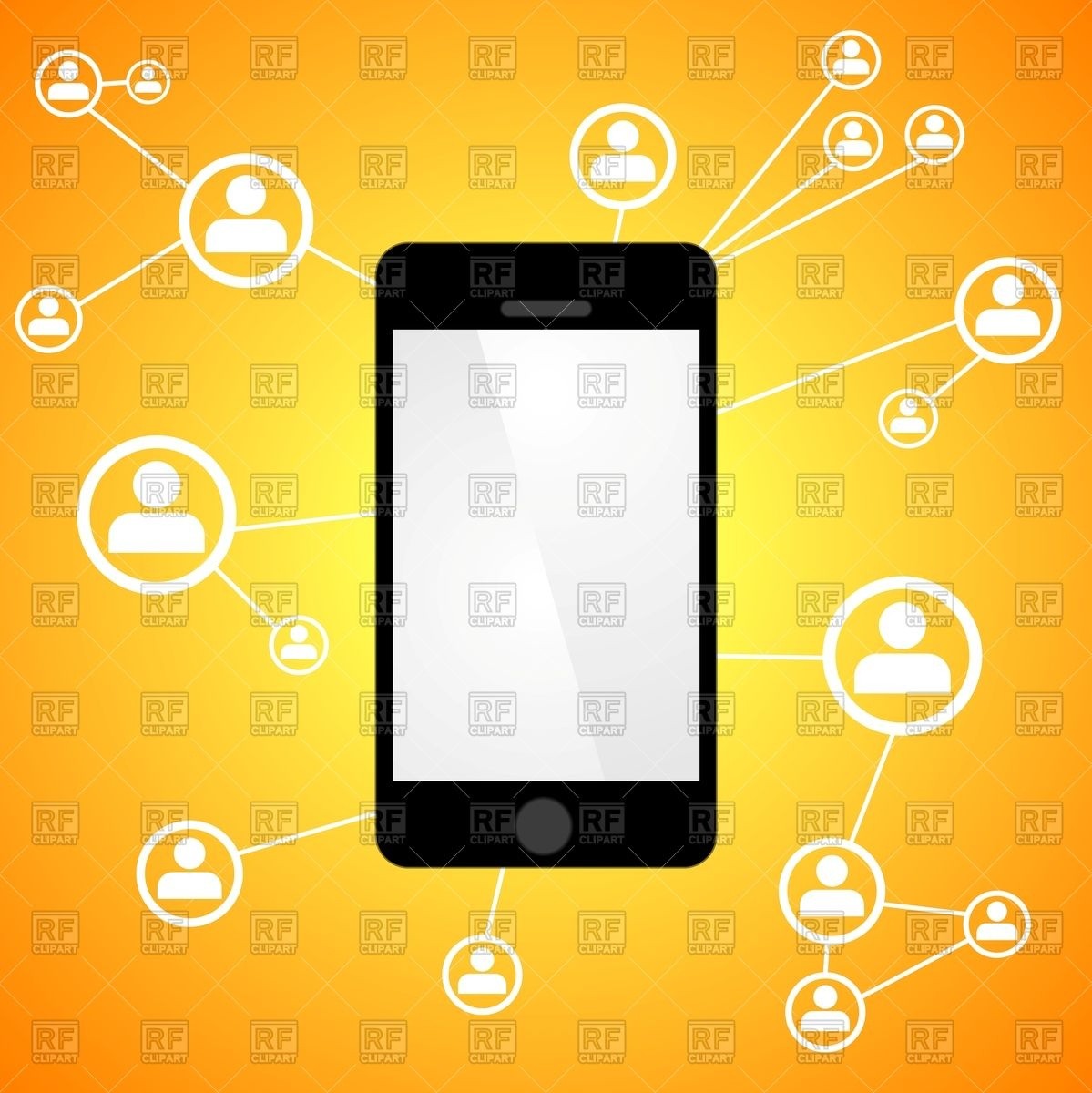 Smartphone User Clip Art Free Images
