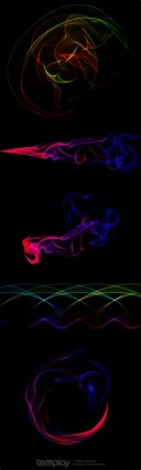 Smoke Backgrounds for Photoshop PSD